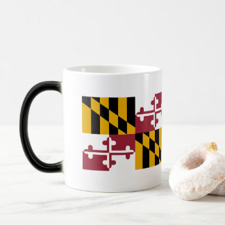 Maryland Flag Magic Mug