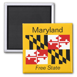 Maryland Flag Magnet
