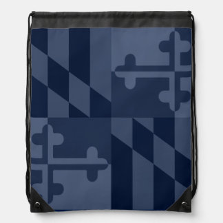 Maryland Flag Monochromatic bag - navy blue