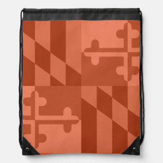 Maryland Flag Monochromatic bag - orange