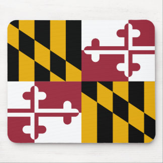 Maryland Flag Mouse Pad