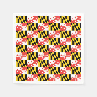Maryland Flag Napkins