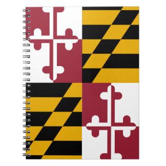 Maryland Flag Notebooks