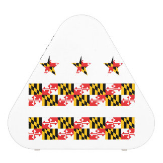 Maryland Flag on DC Flag Speaker (Bluetooth)