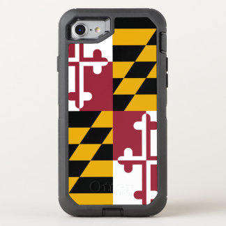 Maryland Flag OtterBox Defender iPhone 8/7 Case
