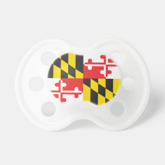 MARYLAND FLAG PACIFIER