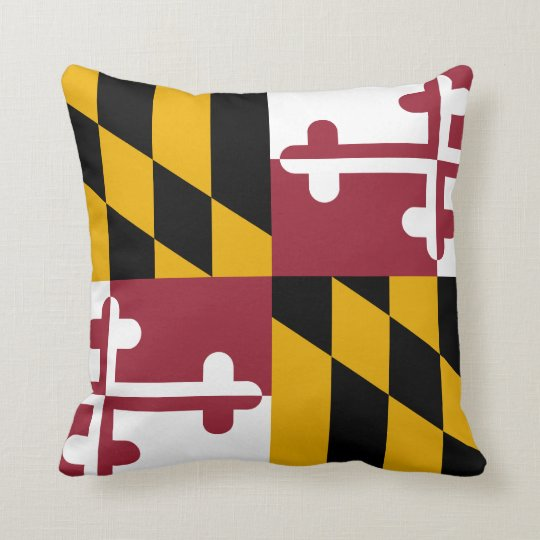 Maryland Flag pillow