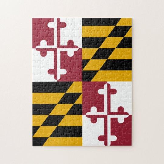 Maryland Flag Puzzle