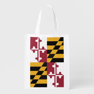 Maryland Flag reusable bag
