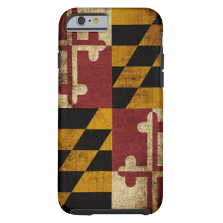 Maryland Flag Tough iPhone 6 Case