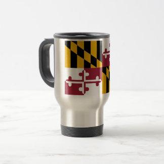 Maryland Flag Travel Mug
