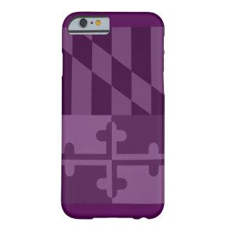 Maryland Flag (vertical) phone case - plum
