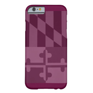 Maryland Flag (vertical) phone case - raspberry