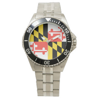 MARYLAND FLAG WRISTWATCH