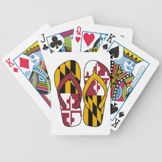 Maryland Flip Flops Bicycle Playing Cards
