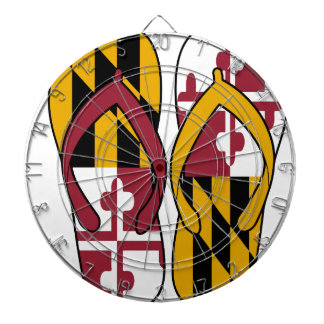 Maryland Flip Flops Dartboard