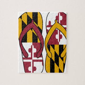 Maryland Flip Flops Jigsaw Puzzle