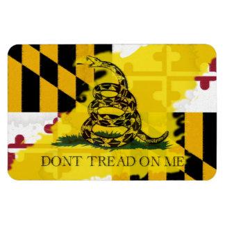 Maryland Gadsden Flag Magnet