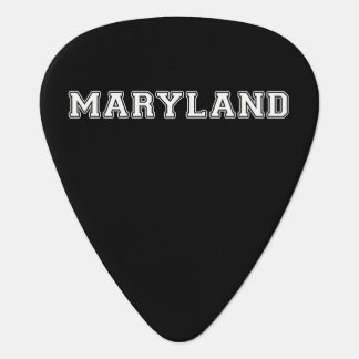 Maryland Guitar Pick