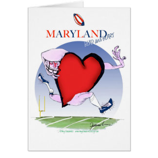 maryland head heart, tony fernandes card