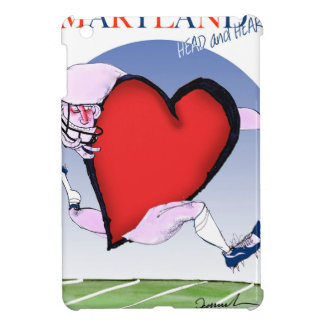 maryland head heart, tony fernandes iPad mini cover