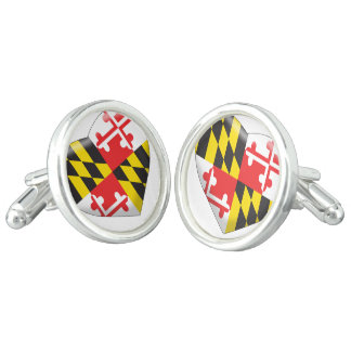 Maryland Heart Cufflinks