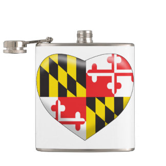 Maryland Heart Flasks