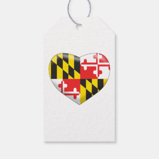 Maryland Heart Gift Tags