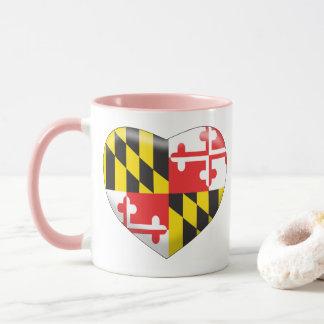 Maryland Heart Mug