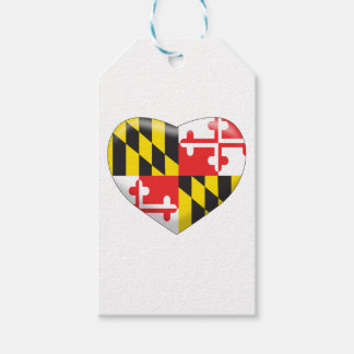 Maryland Heart Pack Of Gift Tags
