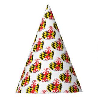 Maryland Heart Party Hat