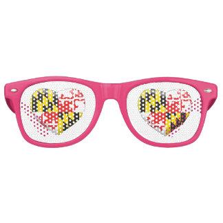 Maryland Heart Retro Sunglasses