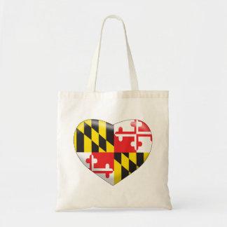 Maryland Heart Tote Bag