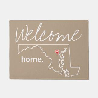 Maryland Home County Door Mat - Baltimore City