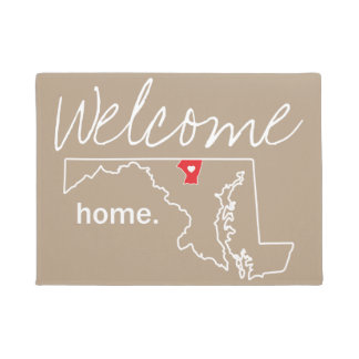 Maryland Home County Door Mat - Carroll Co.