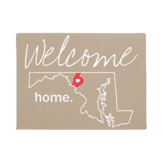 Maryland Home County Door Mat - Frederick Co.