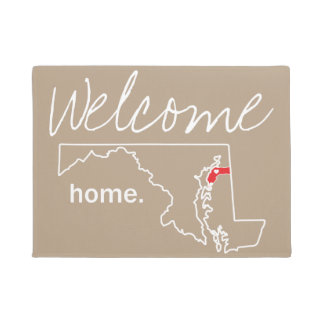 Maryland Home County Door Mat - Kent co.