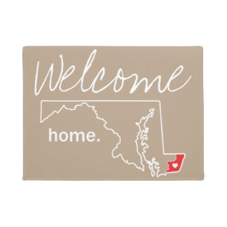 Maryland Home County Door Mat - Worcester co.