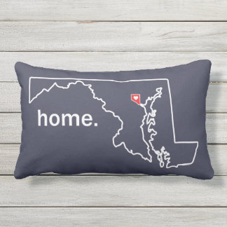 Maryland Home County pillow - Baltimore City