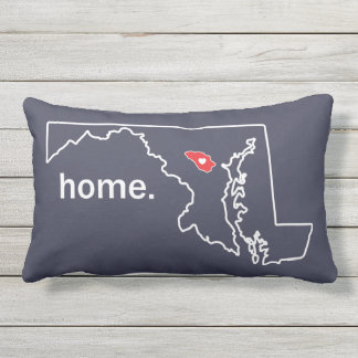 Maryland Home County pillow - Howard co.
