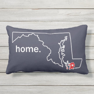 Maryland Home County pillow - Somerset co.