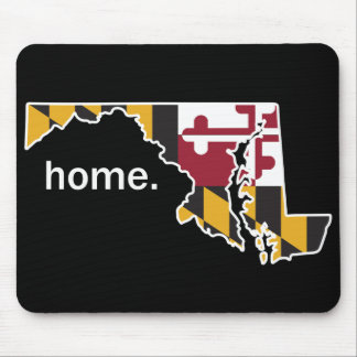 Maryland home state mouse pad