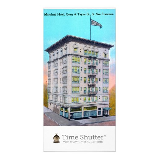 Maryland Hotel, Geary & Taylor St., St. San Franci Photo Card