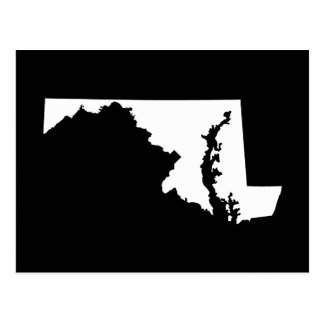 Maryland in White and Black Postcard