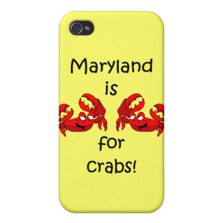 Maryland is for crabs iPhone 4/4S case