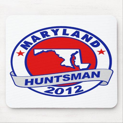 Maryland Jon Huntsman Mouse Pad