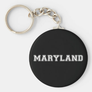 Maryland Keychain