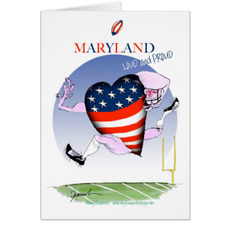 maryland loud and proud, tony fernandes card