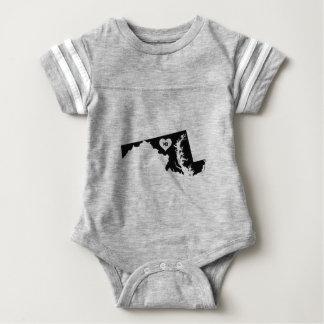 Maryland Love Baby Bodysuit