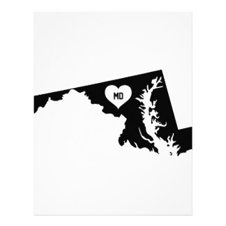 Maryland Love Letterhead